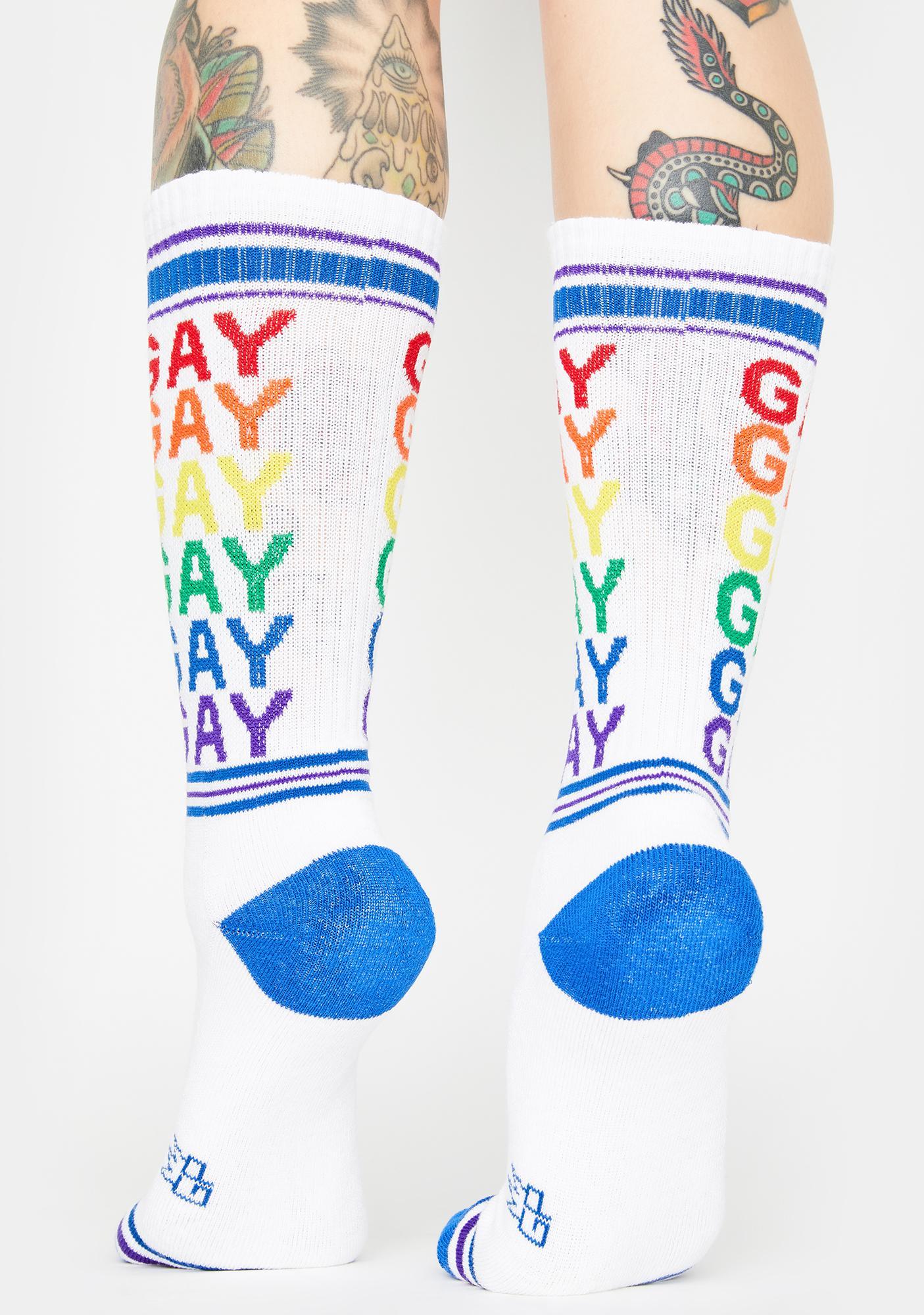 Gumball Poodle Pride Crew Socks