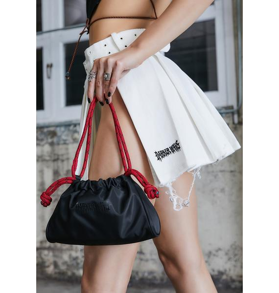DARKER WAVS Kickdrum Rope Handle Nylon Pouch Bag
