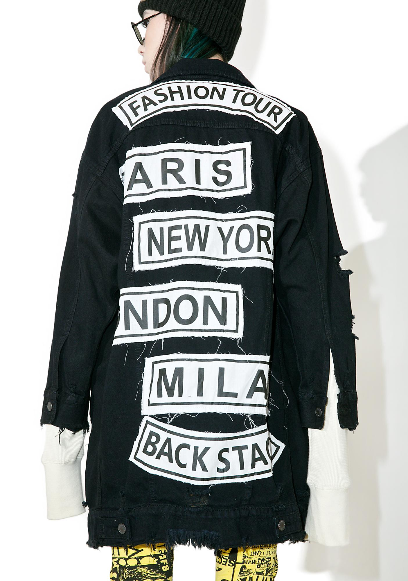 Catwalk Fashion Tour Denim Jacket