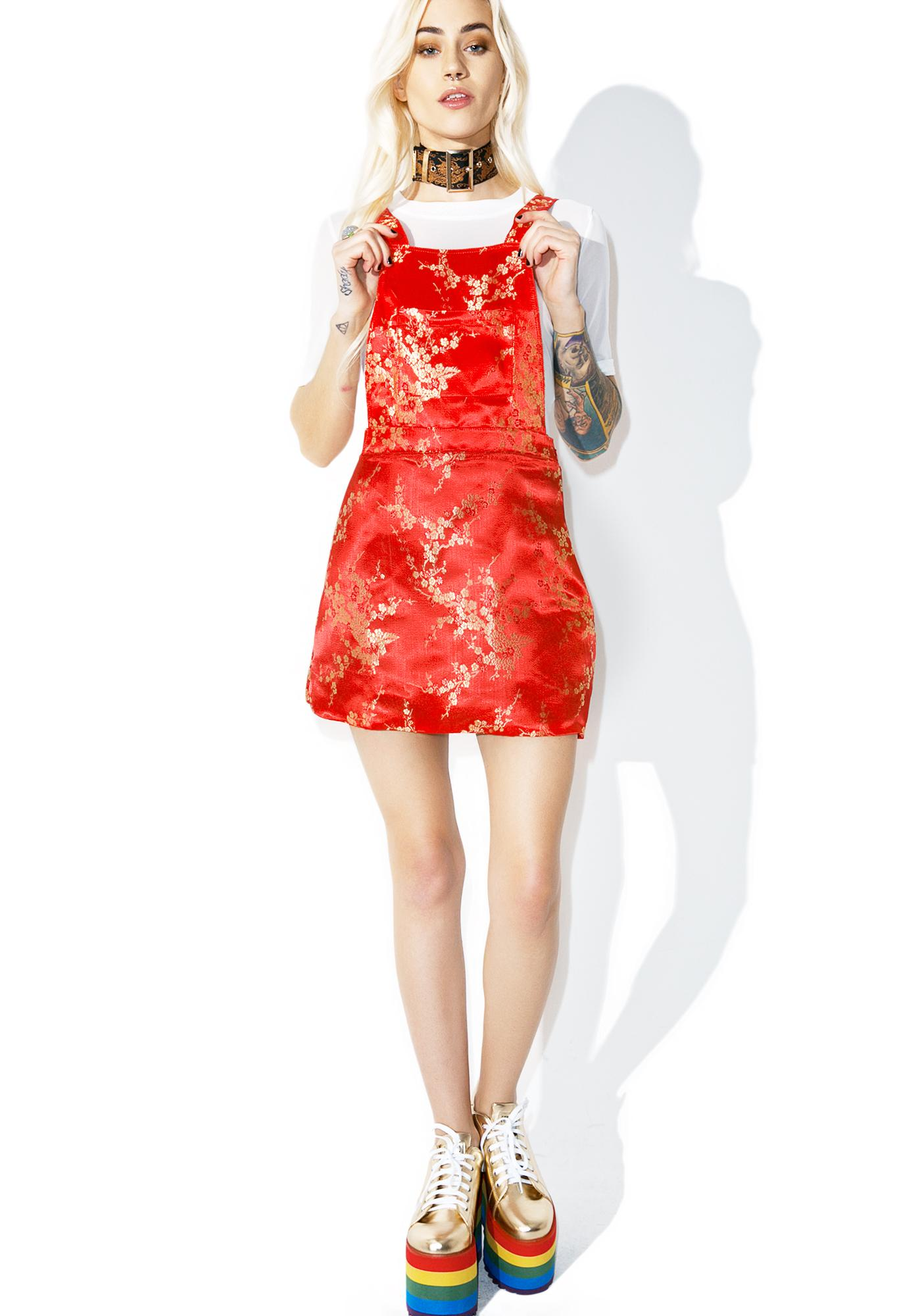 O Mighty Bao Pinafore Dress