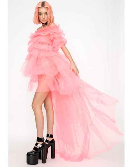 Cotton Candy Princess Tulle Dress