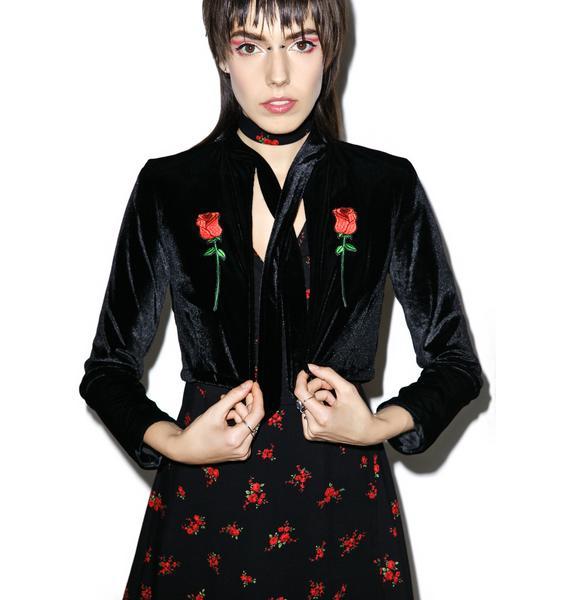 Valfré Rosas Velvet Jacket