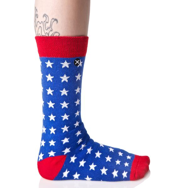 Odd Sox USA Flag Socks