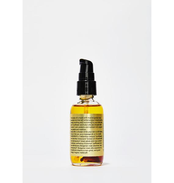 URB APOTHECARY Rose Rosehip Body Oil