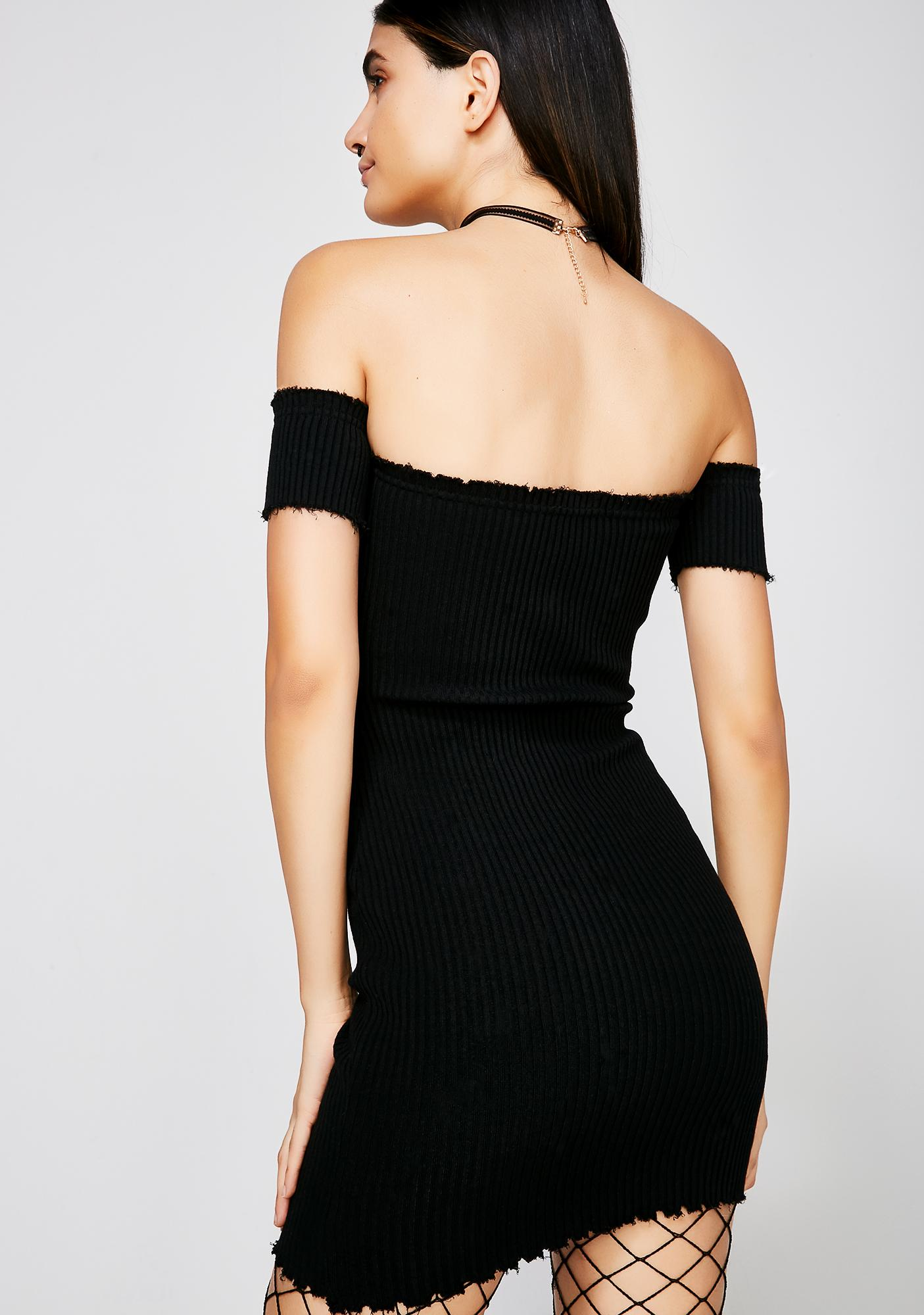 Mind Blown Ribbed Dress