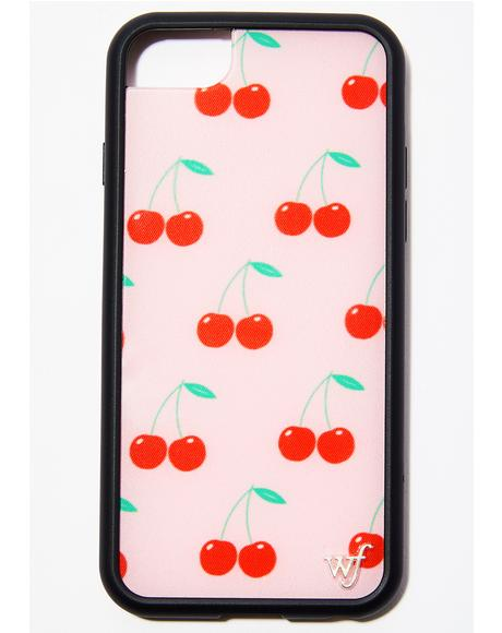 Pink Cherry Phone Case