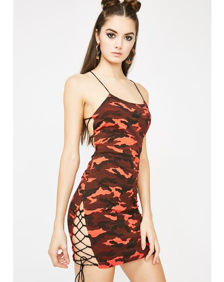 Love Get 'Em Hooked Strappy Dress