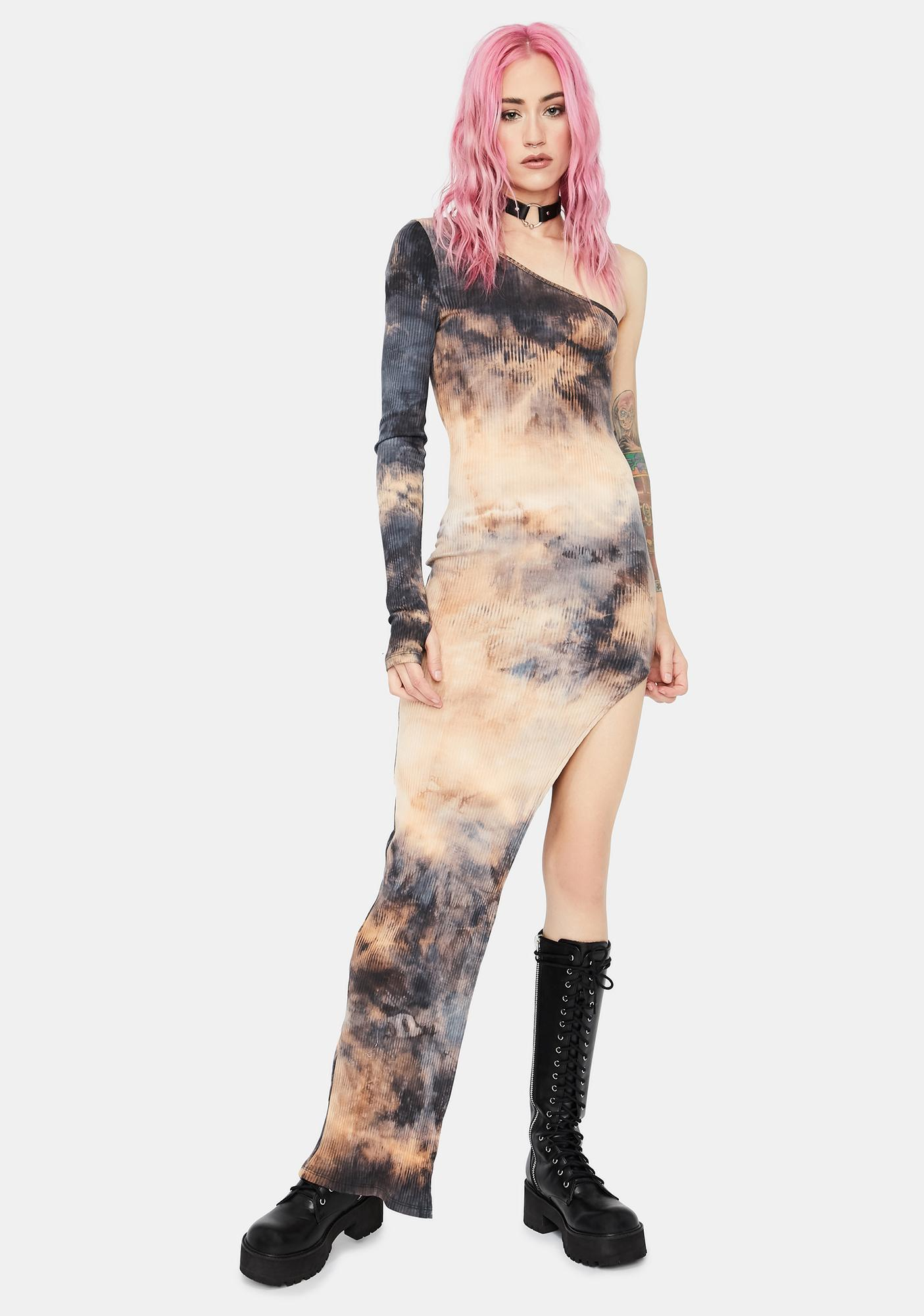 Forever Iconic Tie Dye Maxi Dress