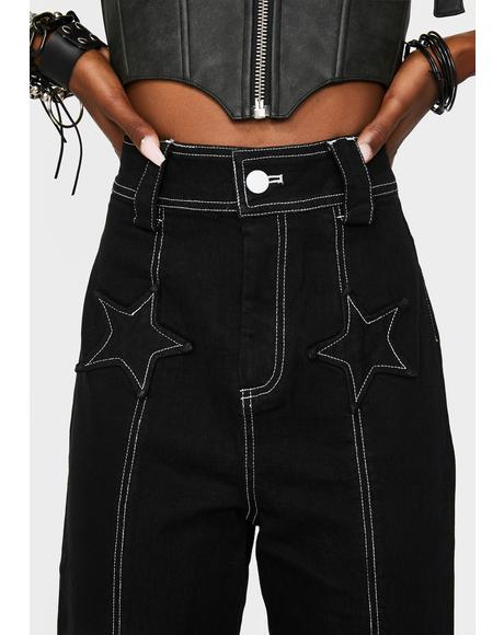 Glam Rock 70's Jeans