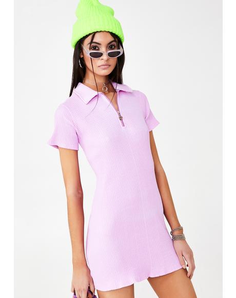 Cherry Pink Tennis Dress
