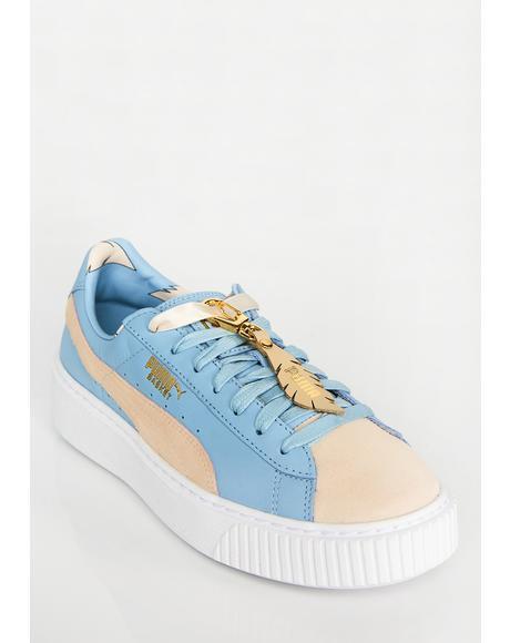 Sky Basket Platform Sneakers