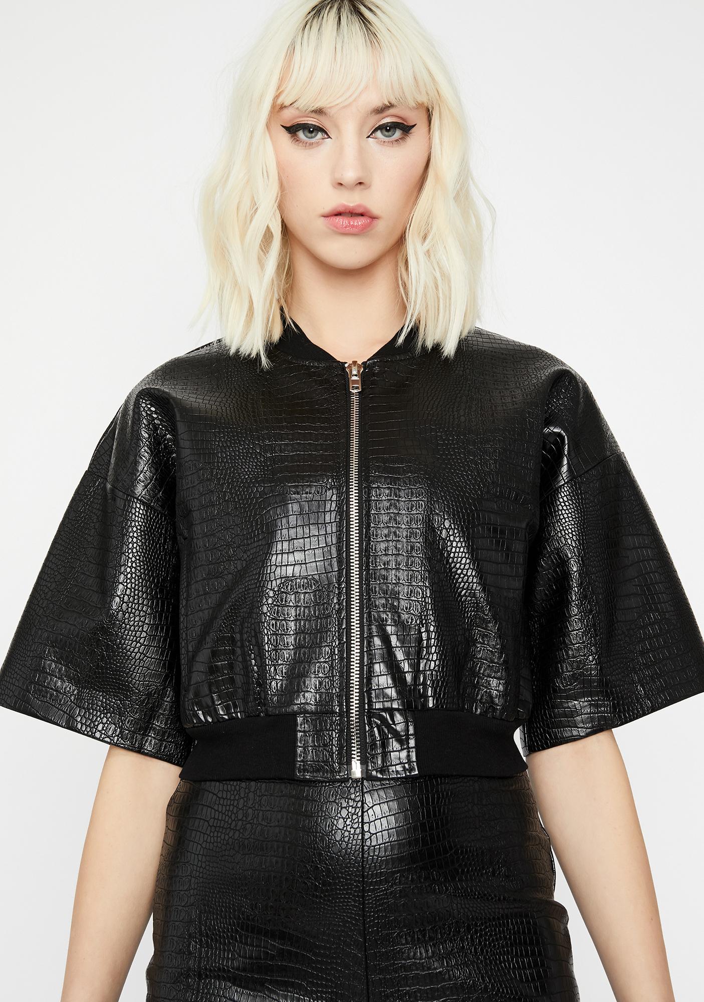 Haute Fashion Embossed Jacket