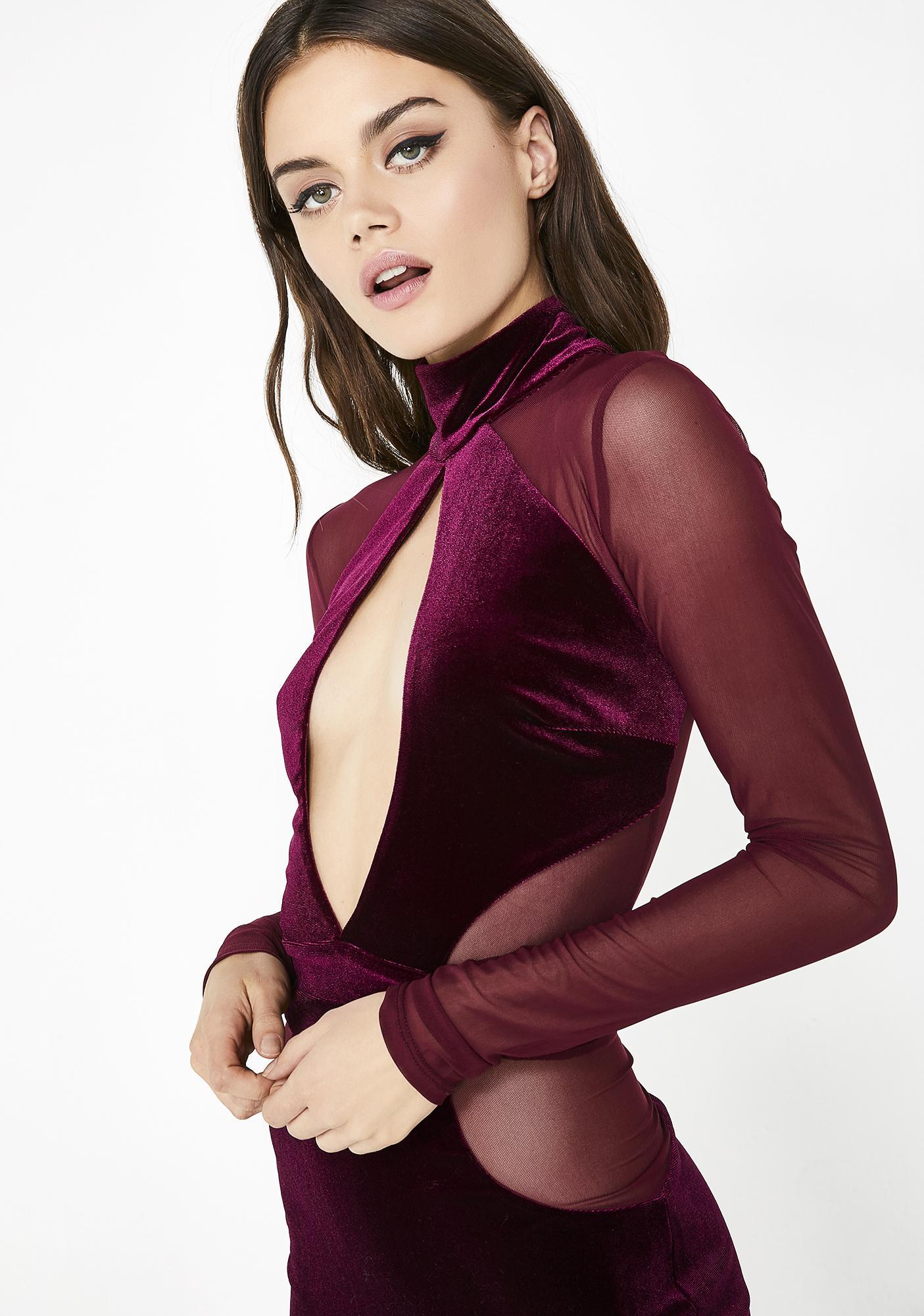 Dazzling Deviant Velvet Dress