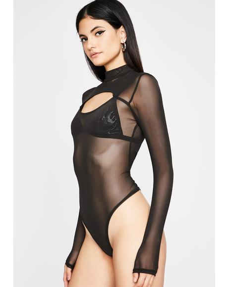 Long Past Curfew Cut-Out Bodysuit