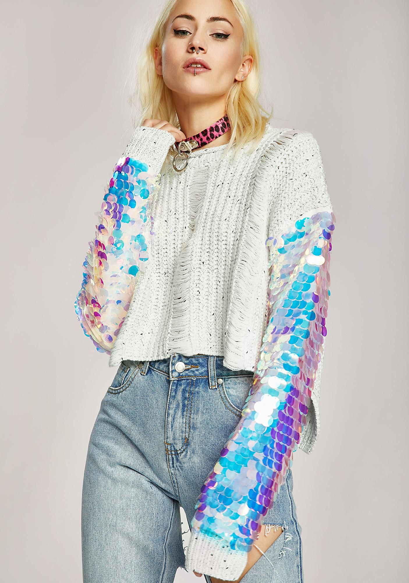 Small Victories Sequin Sweater