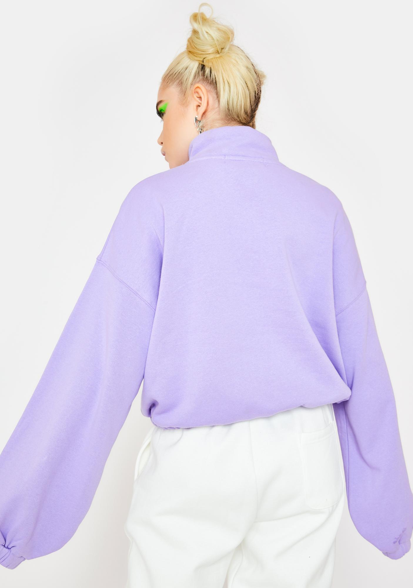 By Samii Ryan Zip It Pullover Top