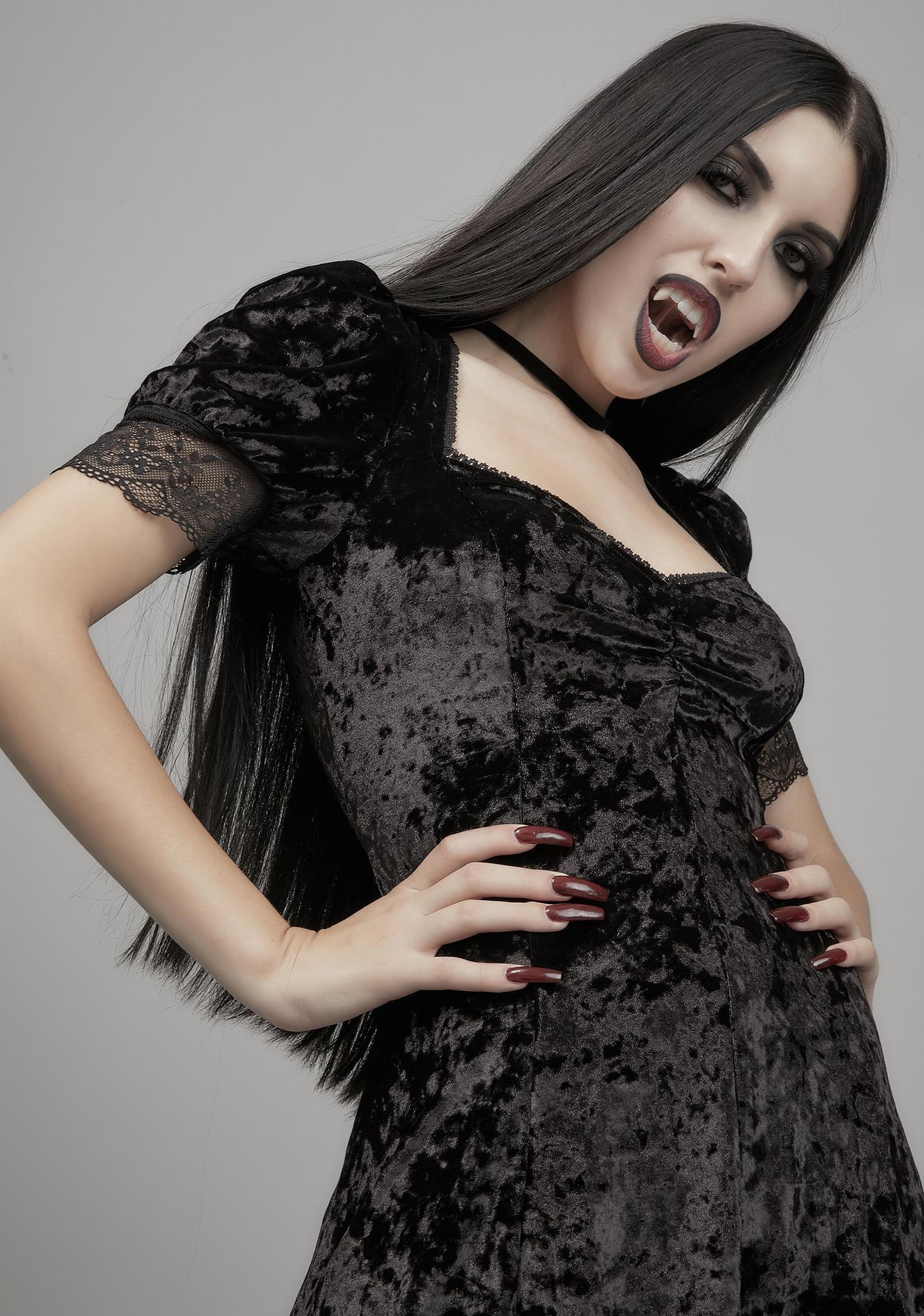 Widow Abandon All Hope Babydoll Dress