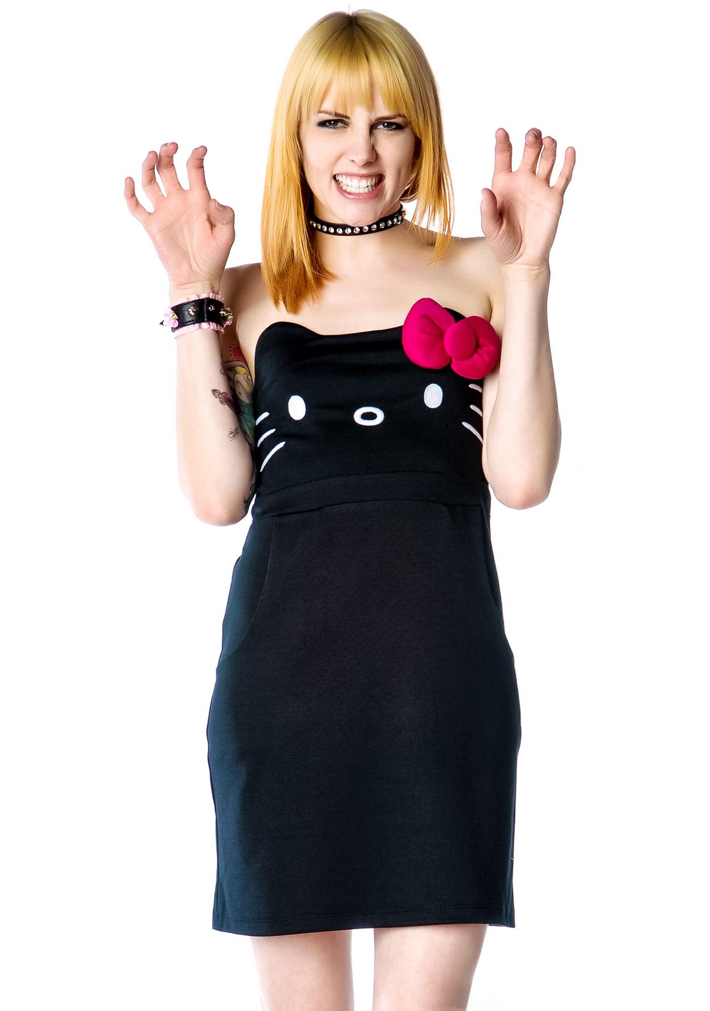 Japan L.A. Hello Kitty Face Dress