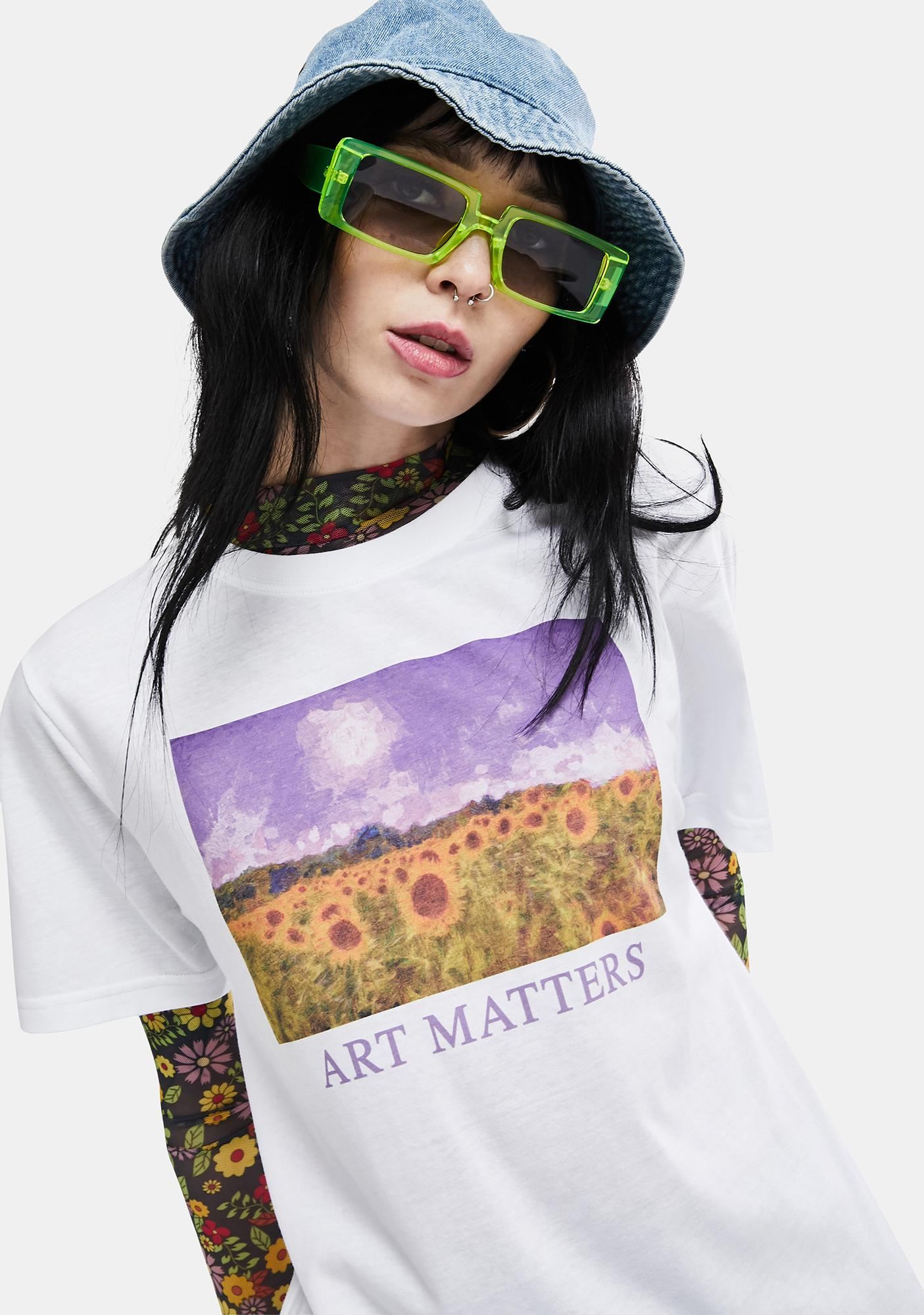 Minga Art Matters Graphic Tee