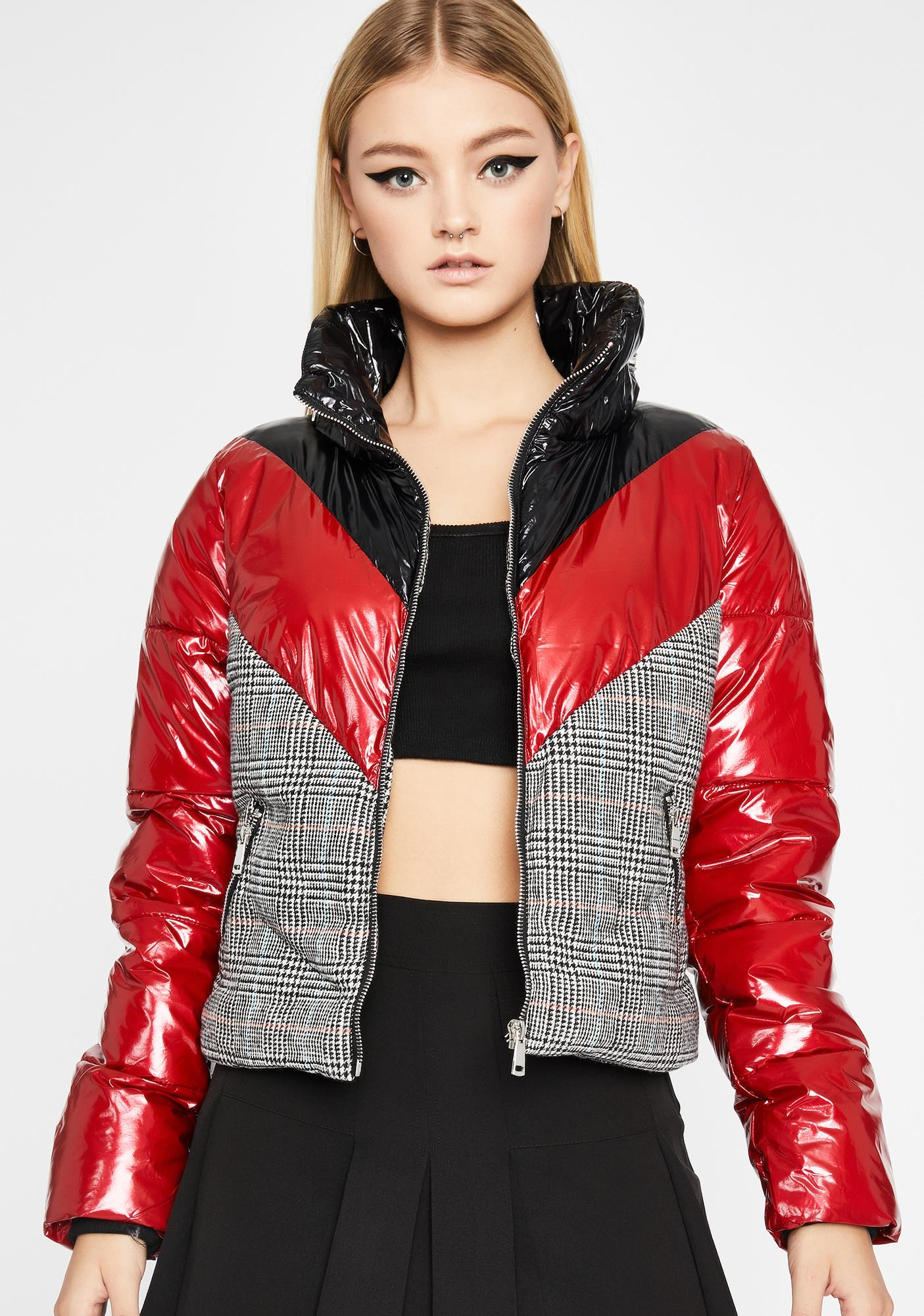 Tell Me No More Puffer Jacket