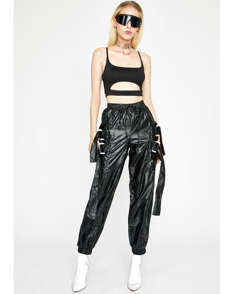 Dark In My Element Metallic Pants