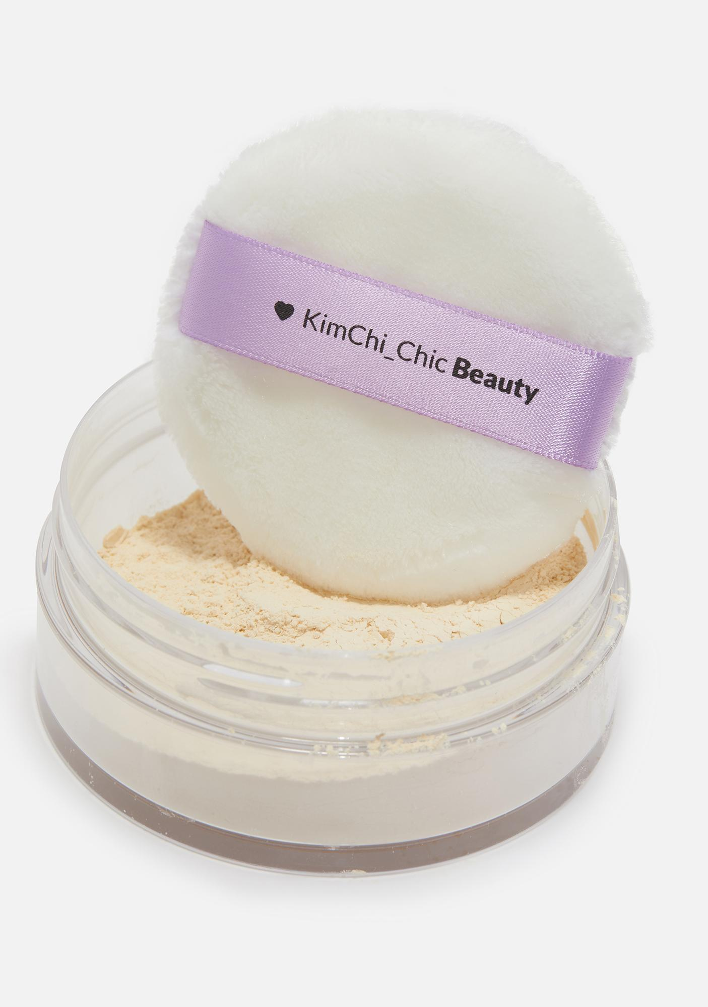 KimChi Chic Beauty Banana Puff Puff Pass Setting Powder