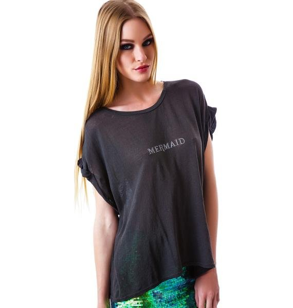 Wildfox Couture Tiny Mermaid Boy Tee
