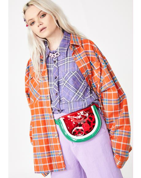 Juicy Slice Fanny Pack