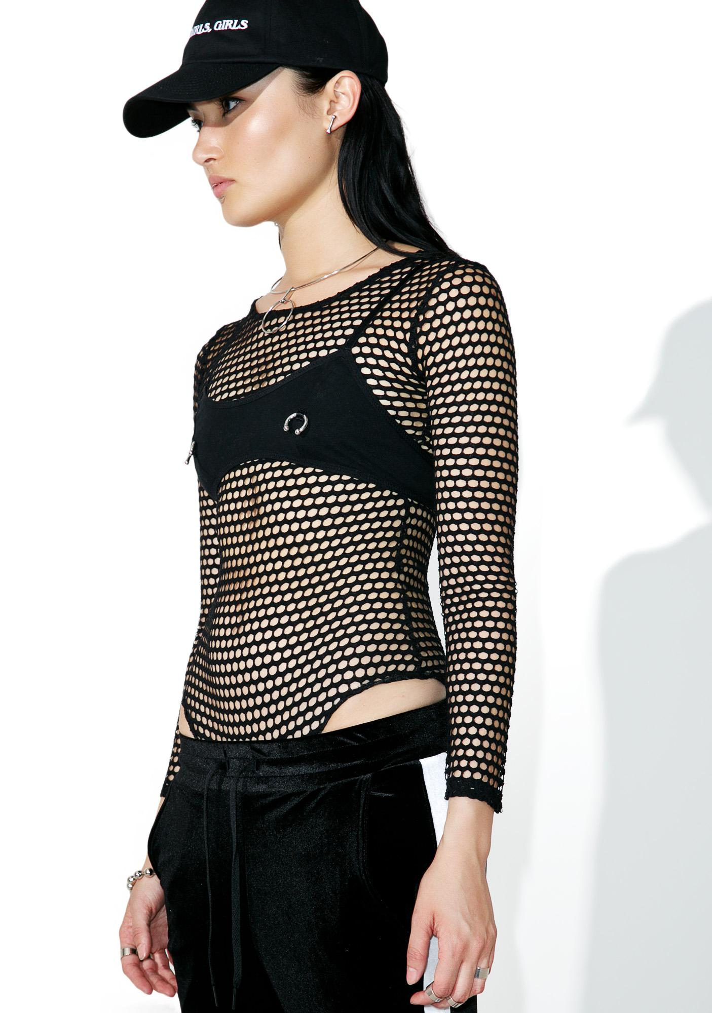 Risky Business Mesh Bodysuit