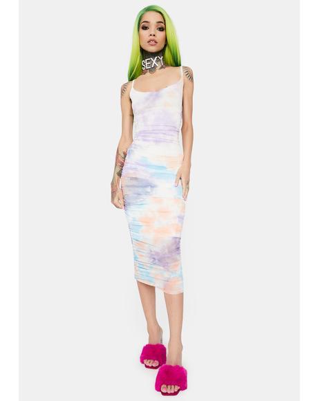 Pastel Daydream Midi Dress