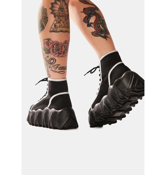 Lamoda Sneakin' Away Chunky Platform Sneakers