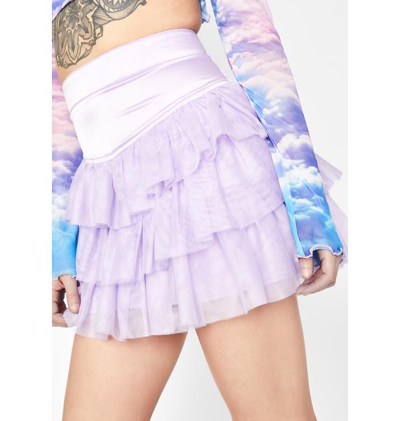 HOROSCOPEZ No Strings Attached Tulle Skirt