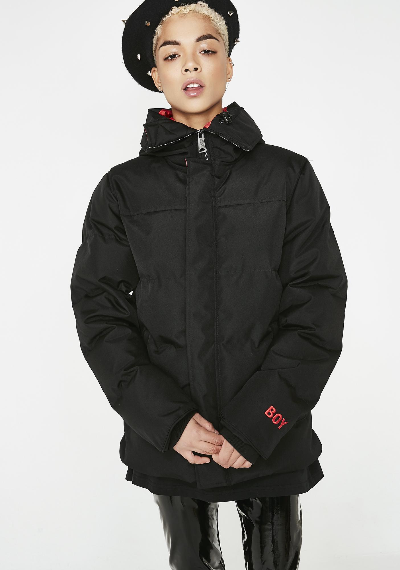 BOY London Boy Stripe Eagle Jacket