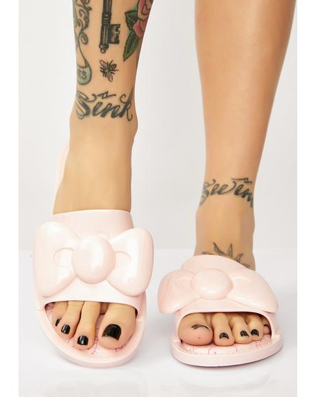 x Hello Kitty Bow Slippers