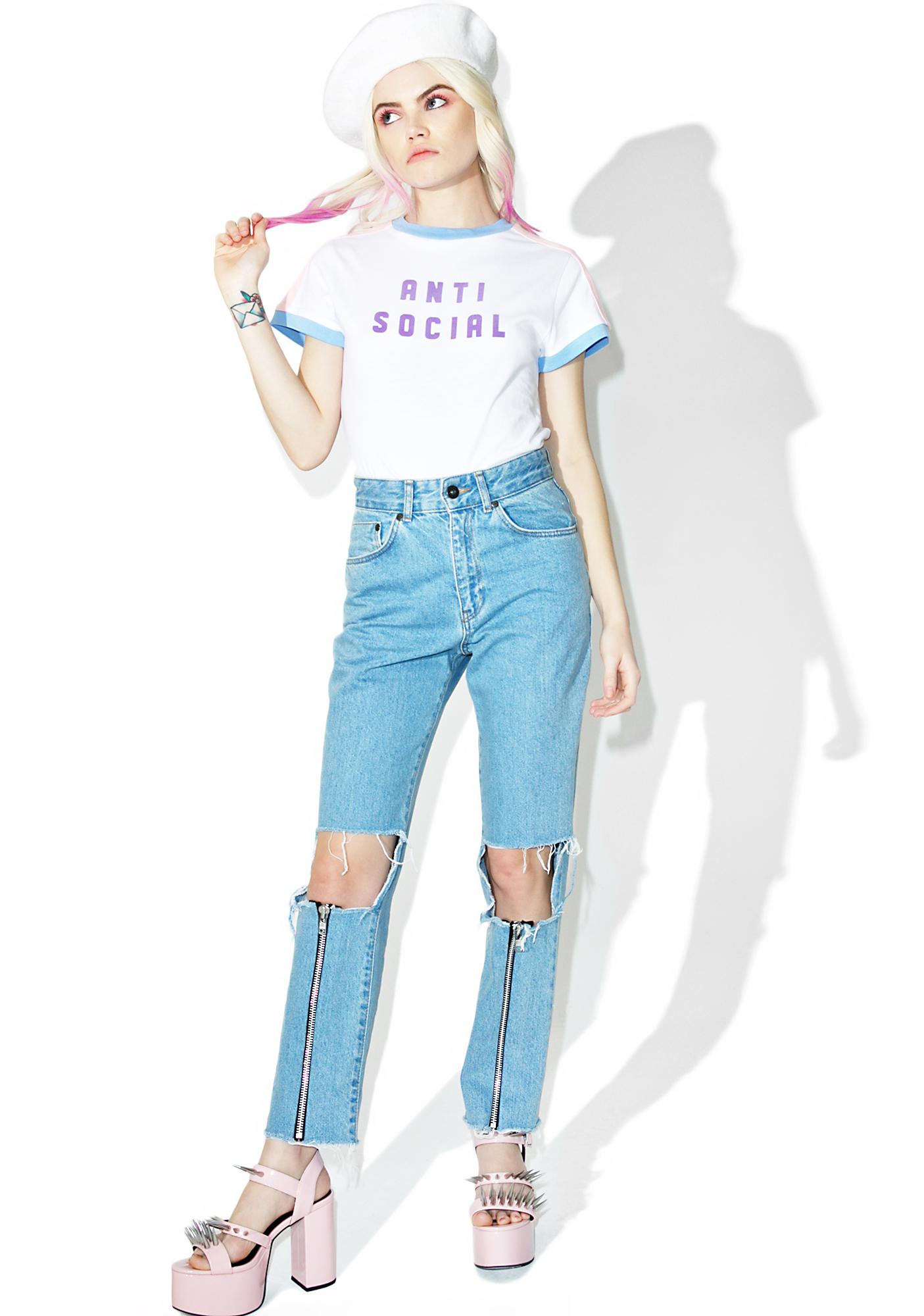 Lazy Oaf Anti Social Tee