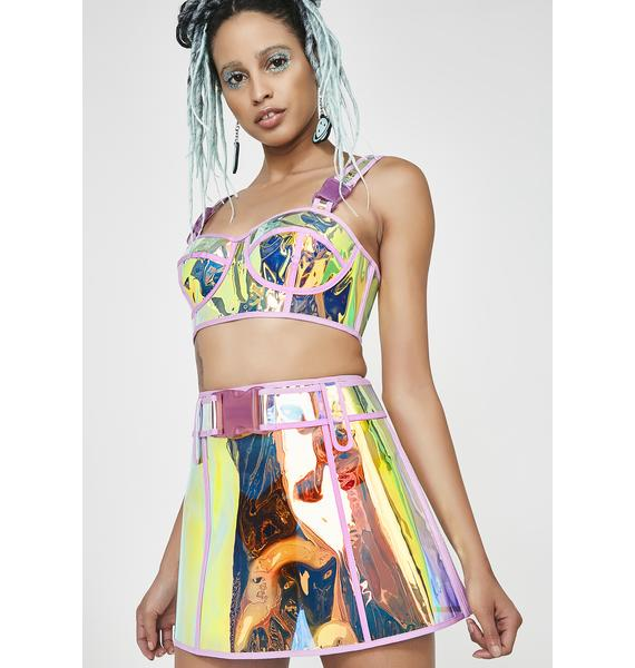 Club Exx Dream Crusher Clear Skirt