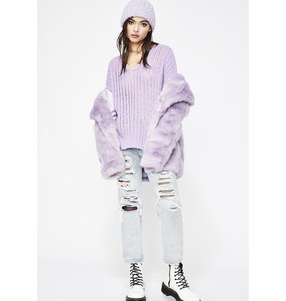 Go Sour Knit Sweater