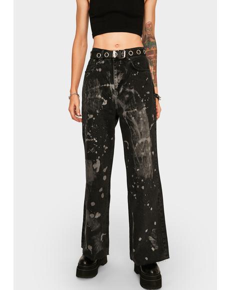 Charcoal Trip Denim Jeans