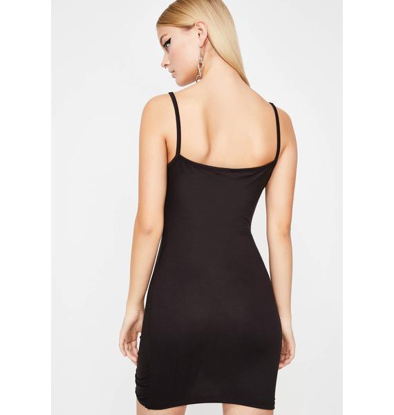 Midnight Slay Vision Mini Dress