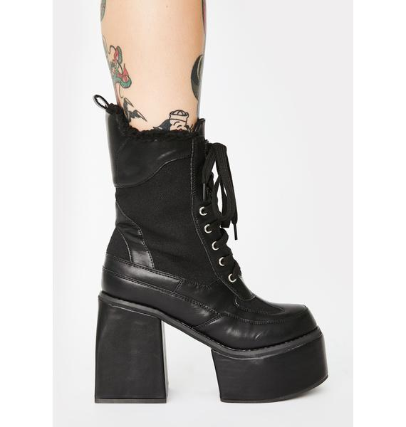 Sinister So Whatever Ankle Boots
