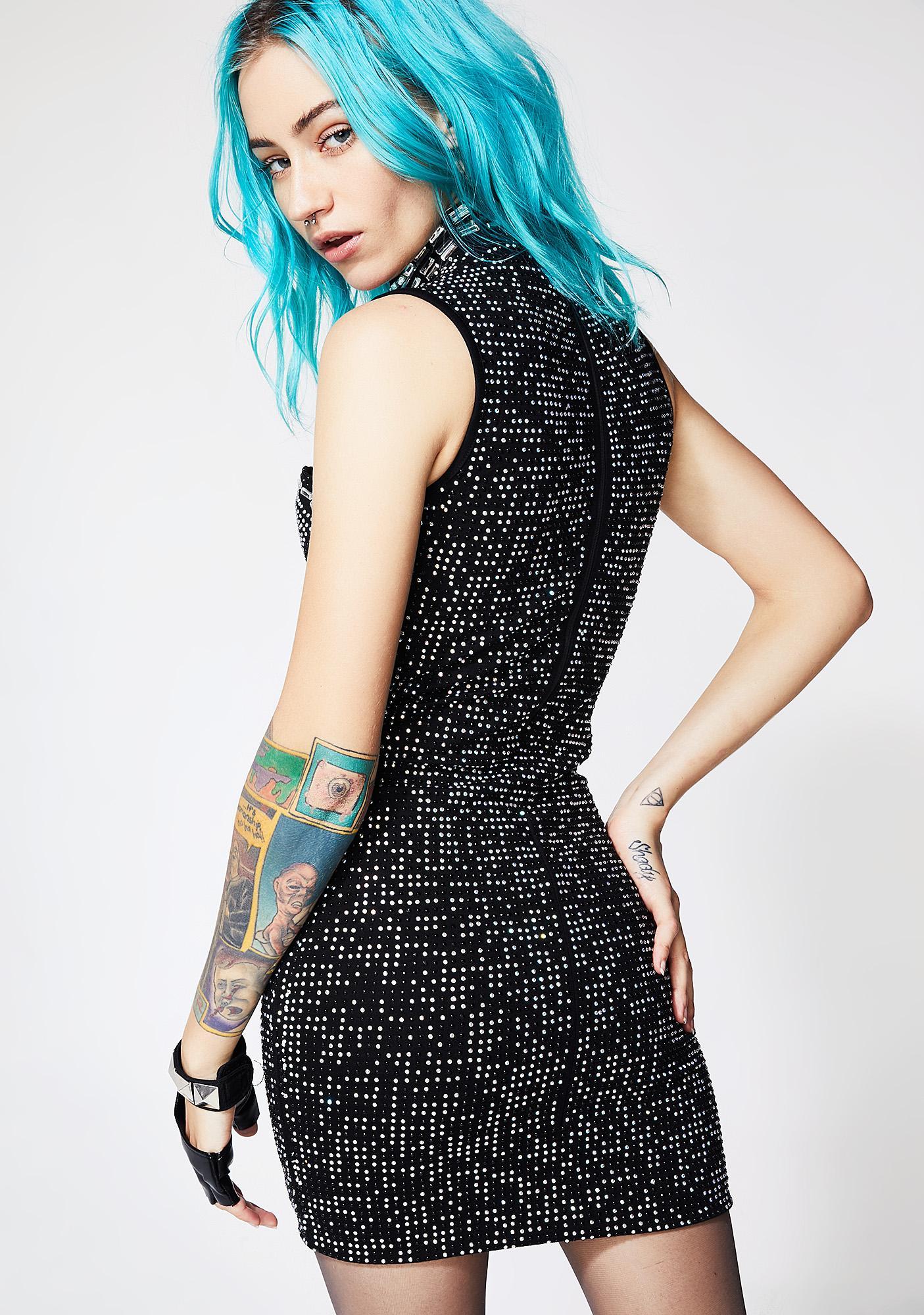 Kiki Riki Sparkle Me Choker Dress