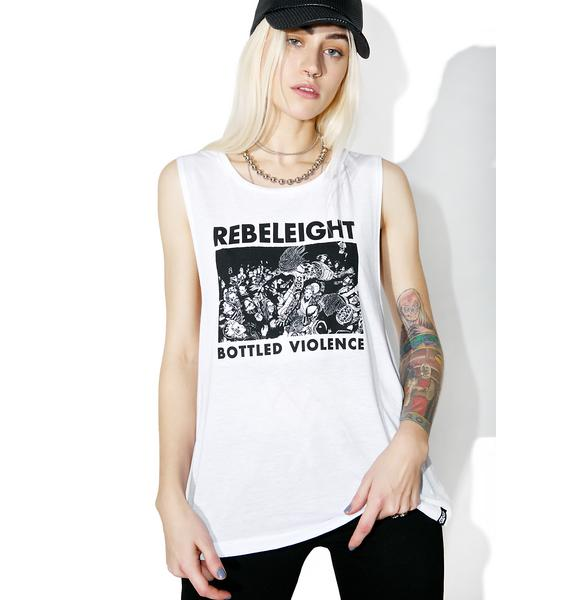 Rebel8 Bottled Violence Muscle Tee