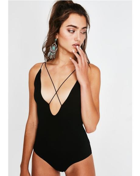 Get It Girl Strappy Bodysuit