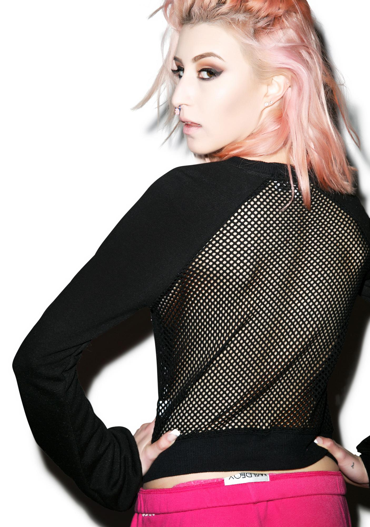 Wildfox Couture Barbie Warm Up Sweater