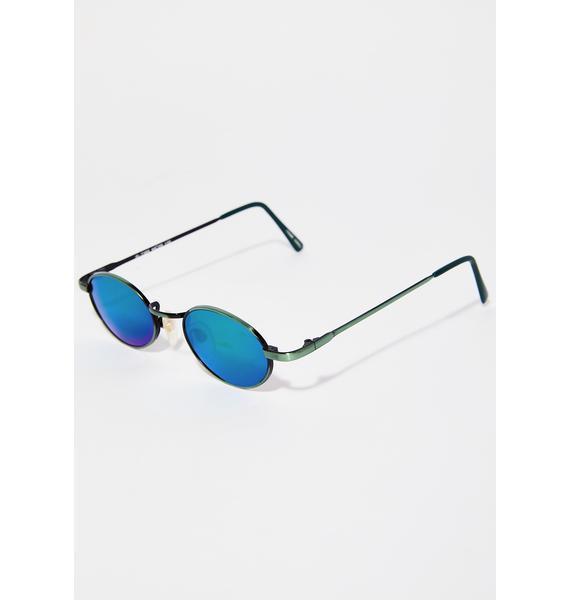 Nevermind Oval Sunglasses