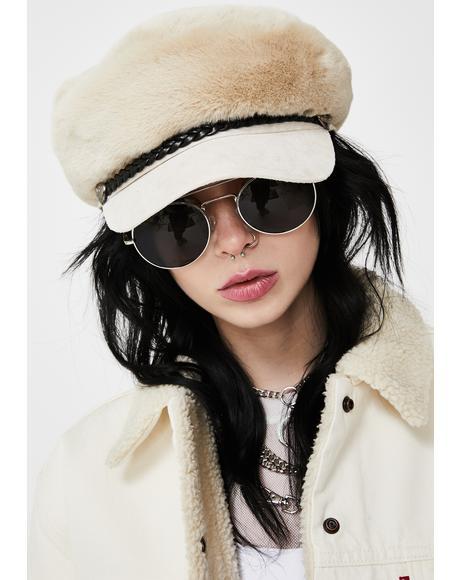 Polar Secret Heiress Faux Fur Hat