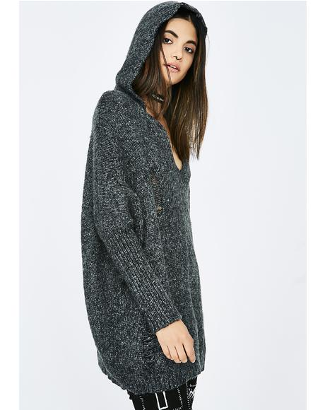 Waiting Game Hooded Sweater