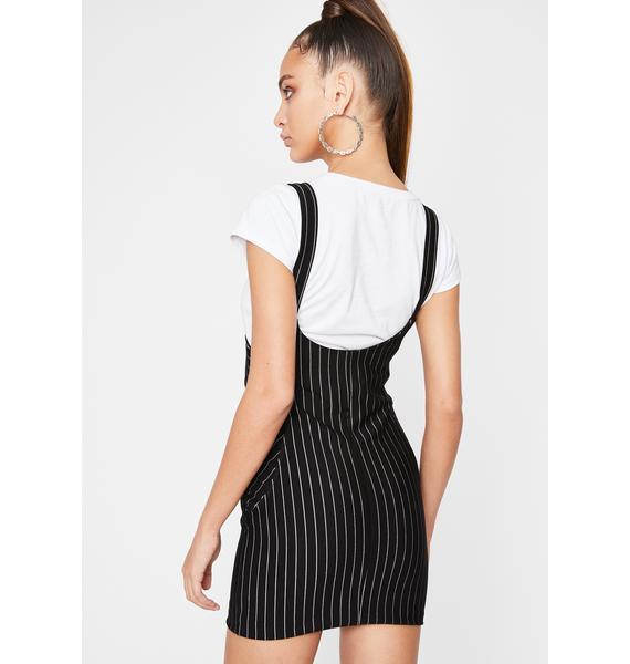 Get Money Honey Suspender Dress