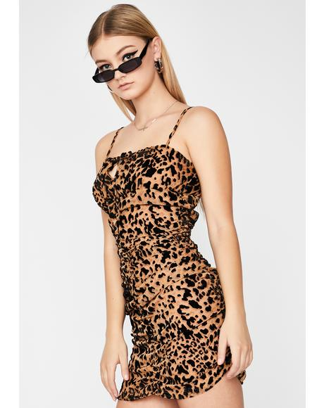Fiercely Intense Leopard Dress