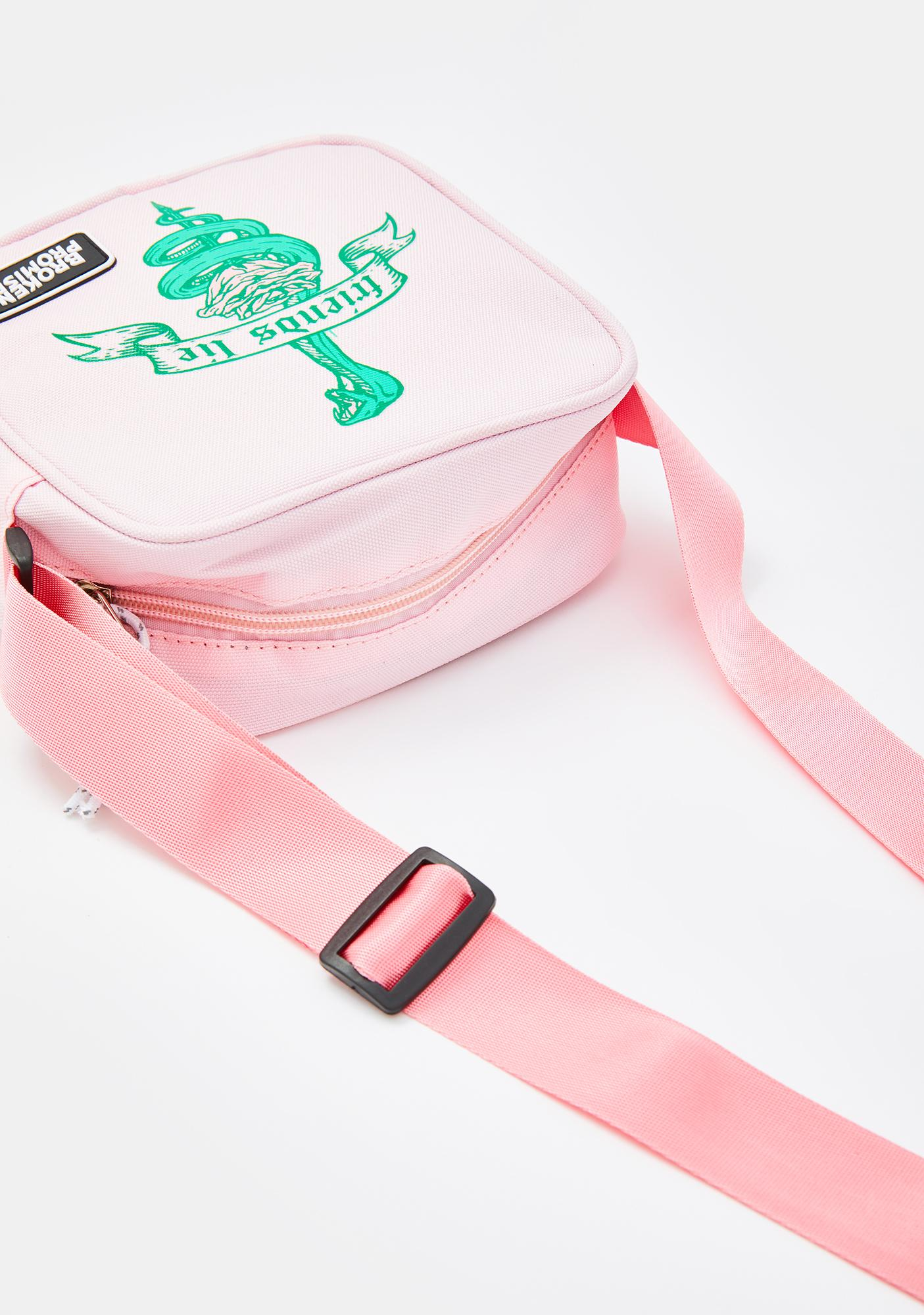 BROKEN PROMISES CO Friends Lie Mini Crossbody Bag
